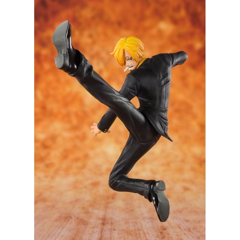 One Piece - Black Leg Sanji - Figuarts Zero (Diorama 20ème Anniversaire)