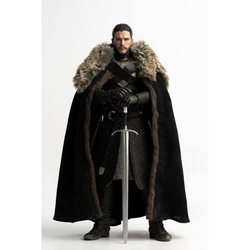 Game of Thrones - Figurine Deluxe Jon Snow Saison 8 29 cm