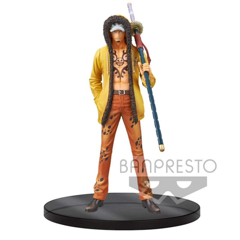 One Piece - Figurine Trafalgar Law DFX - The Grandline Men Vol.5