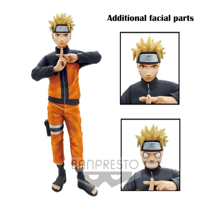 Naruto - Figurine Grandista Nero Naruto Uzumaki 23 cm