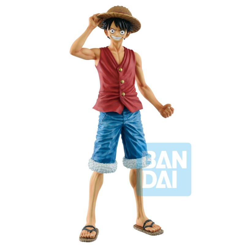 One Piece - Figurine Monkey D. Luffy - 20th History Masterlise