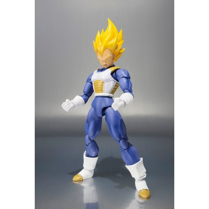 Dragon Ball - Figurine Super Saiyan Vegeta S.H.Figuarts Premium Color
