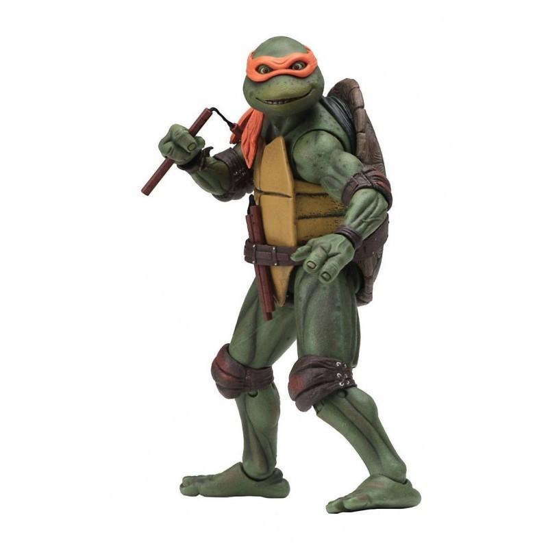 Tortues Ninja - Figurine articulée Michelangelo 18 cm