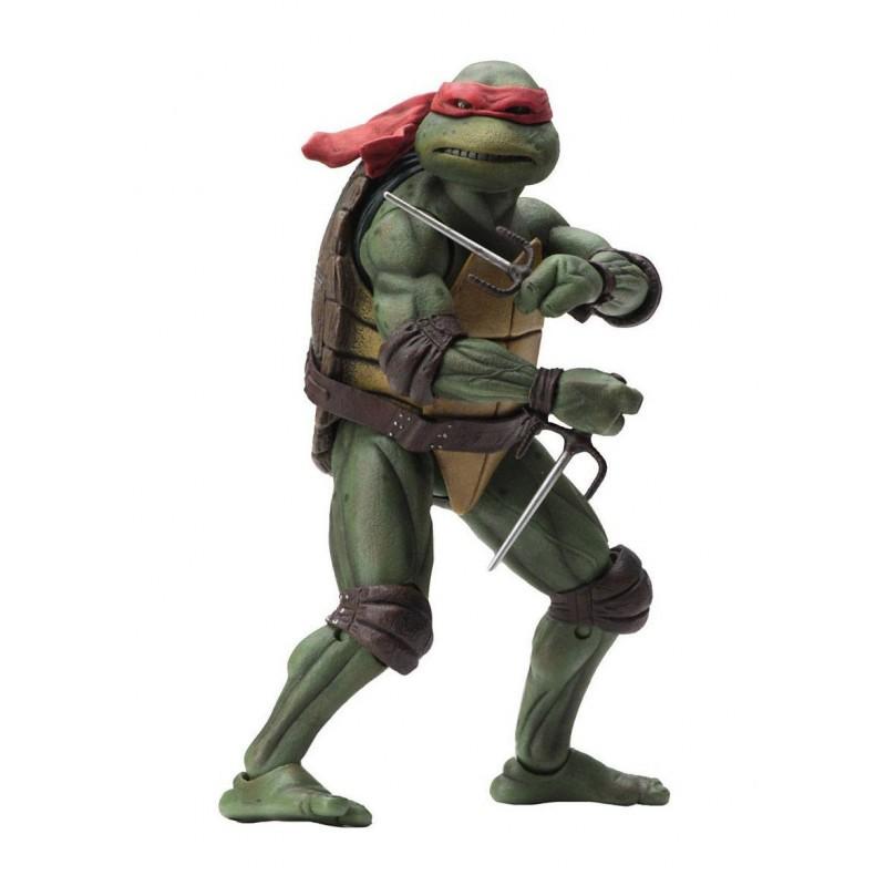 Tortues Ninja - Figurine articulée Raphael 18 cm