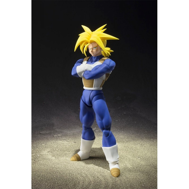Dragon Ball Z - Figurine Super Saiyan Trunks S.H.Figuarts