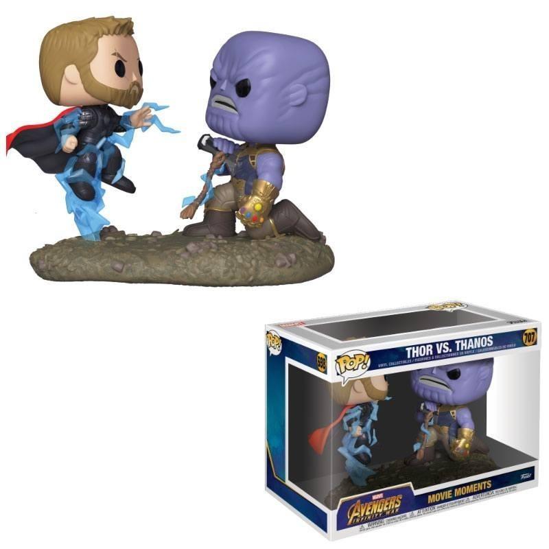 Marvel - Pack 2 Pop Thor & Thanos