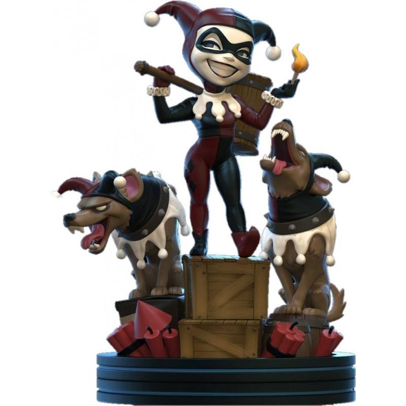 Q-Fig Max Remastered Harley Quinn 13 cm