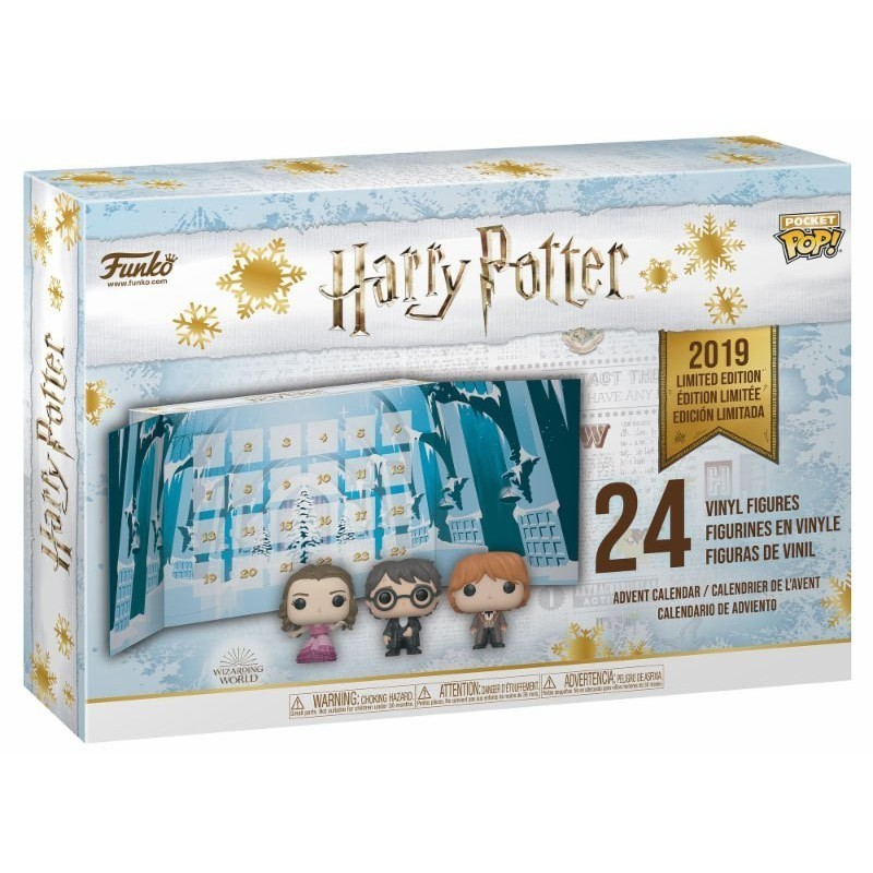 Calendrier de l'Avent Pop Harry Potter - Edition Limitée 2019