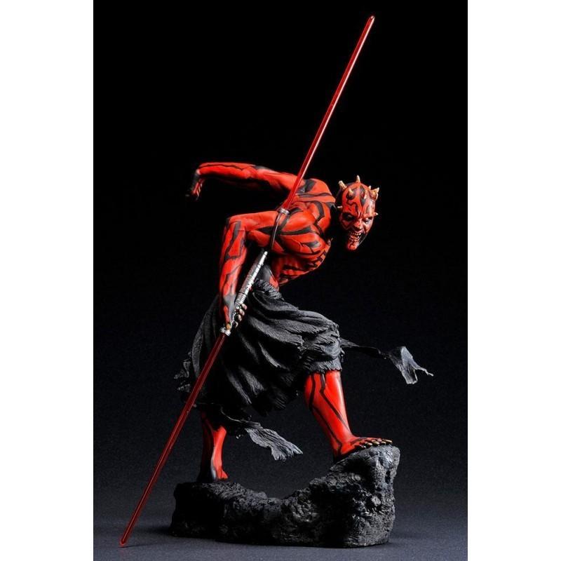Statuette Darth Maul PVC ARTFX 1/7 Darth Maul Japanese Ukiyo-E Style Light-Up Edition 28 cm