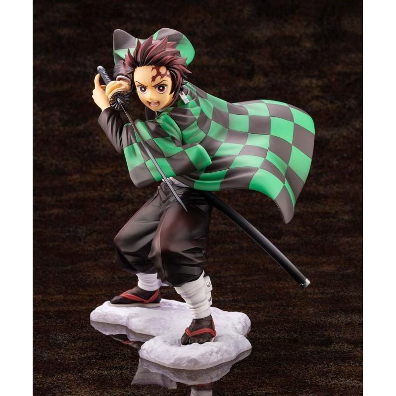 Statuette Tanjiro Kamado PVC ARTFXJ Kotobukiya - Kimetsu no Yaiba Demon Slayer
