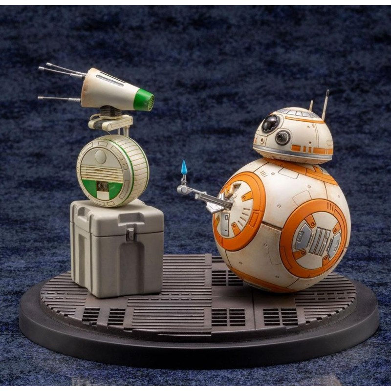Statuettes BB-8 & D-O PVC ARTFX+ Kotobukiya - Star Wars Episode IX