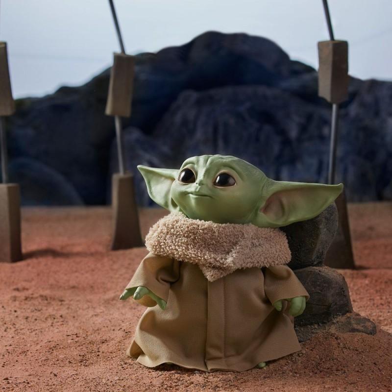 "Peluche parlante Baby Yoda ""The Child"" 19 cm - The Mandalorian"