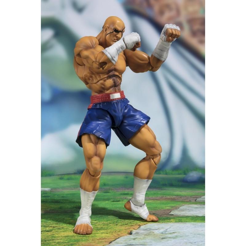 Street Fighter - Figurine Sagat S.H Figuarts