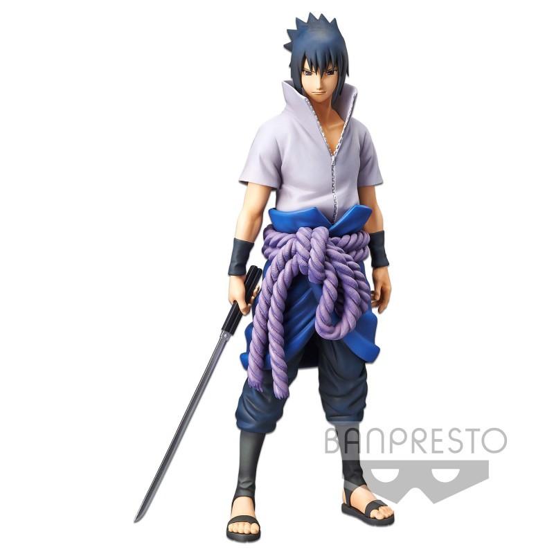 Figurine Sasuke Uchiha Grandista Nero 28 cm - Naruto