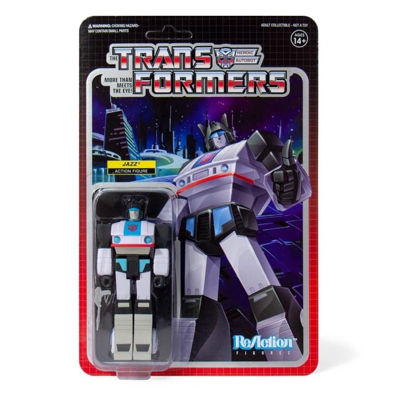 Transformers - Figurine Jazz vintage - Wave 1 ReAction