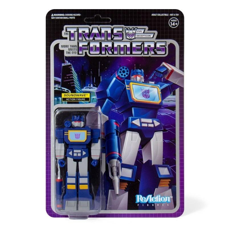 Transformers - Figurine Soundwave vintage - Wave 1 ReAction