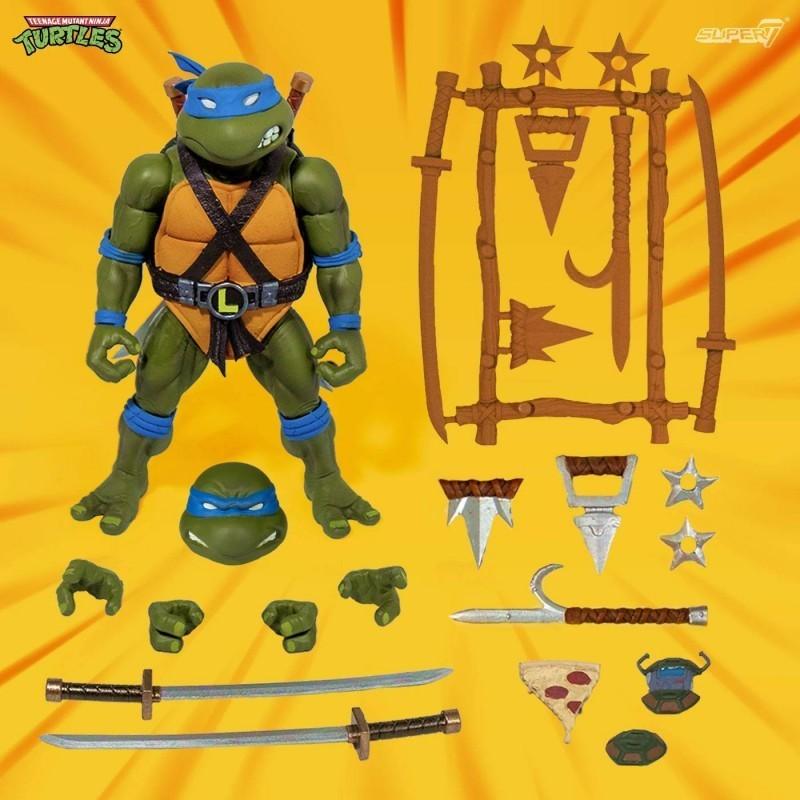 Tortues Ninja - Figurine Ultimate Leonardo 18 cm