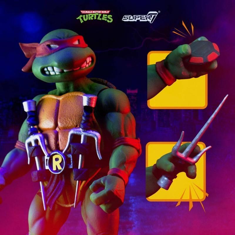 Tortues Ninja - Figurine Ultimate Raphael 18 cm