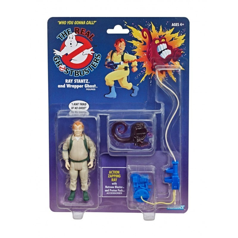 Figurines articulées Ray Stantz & Wrapper Ghost - Ghostbusters