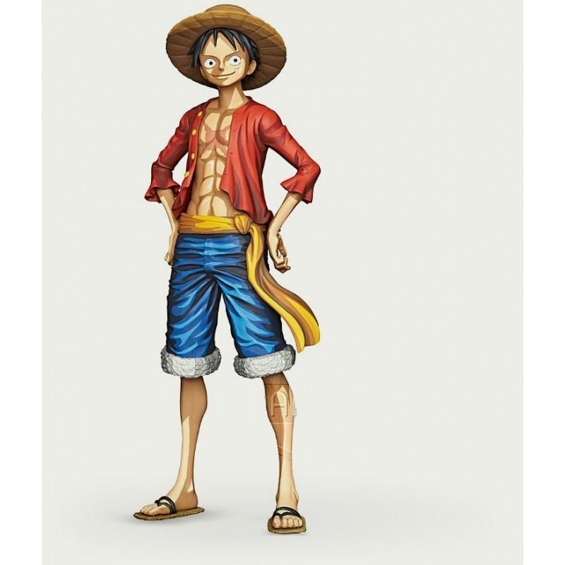 One Piece - Figurine Grandista Monkey D. Luffy - Manga Dimensions