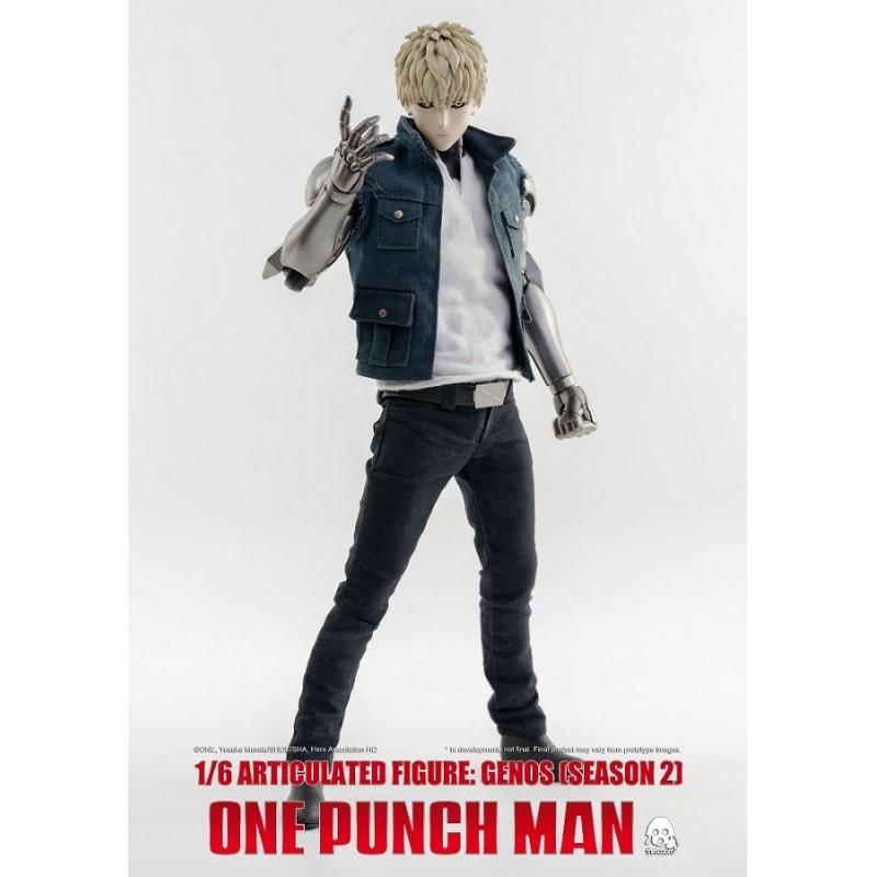 Figurine articulée 1/6 Genos 30 cm - One Punch Man - ThreeZero