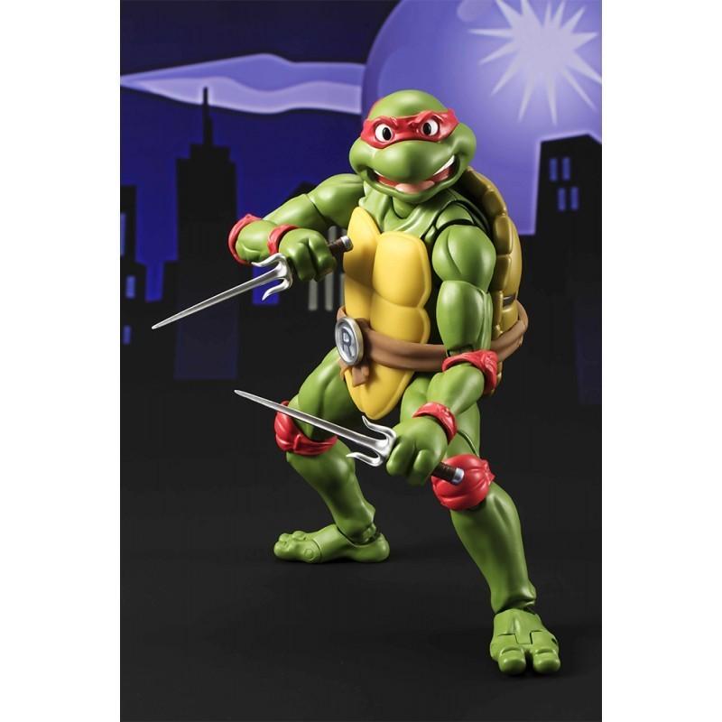 Figurine S.H. Figuarts Raphael - Tortues Ninja