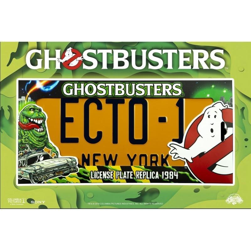Réplique officielle Plaque d'Immatriculation ECTO-1 Ghosbusters