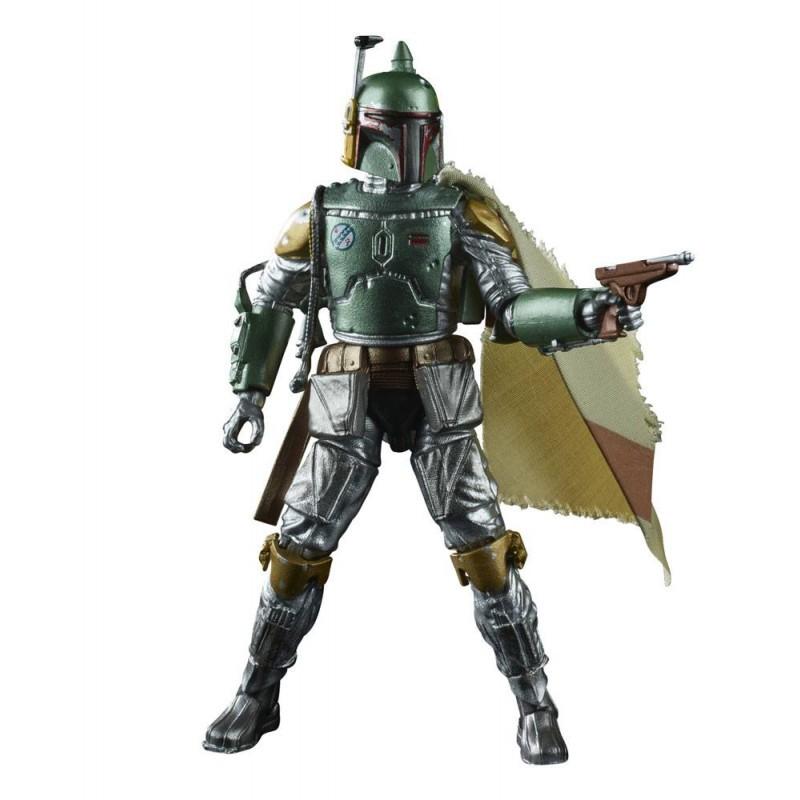 Figurine articulée Boba Fett 2020 - Black Series Carbonized - Star Wars